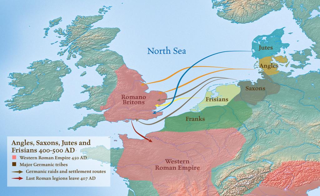 the anglo saxon conquest
