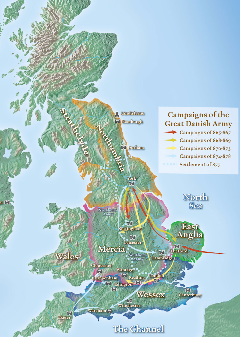 Map Of England 870.Maps The History Of English Podcast