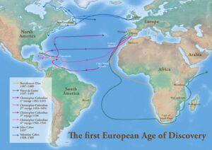 FIRST EUROPEAN AGE OF DISCOVERY